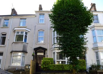 Thumbnail 4 bedroom terraced house for sale in Eaton Crescent, Swansea