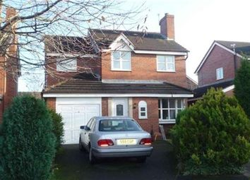 Thumbnail 4 bedroom detached house to rent in Marwood Close, Altrincham