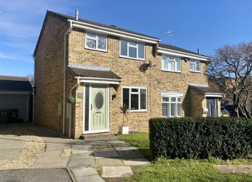 Thumbnail 3 bed semi-detached house for sale in Mundays Row, Clanfield, Waterlooville