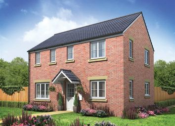 "Thumbnail 3 bed detached house for sale in ""The Clayton Corner"" at Bridgend Road, Bryncae, Llanharan, Pontyclun"
