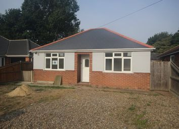 Thumbnail 2 bed detached bungalow for sale in Mill Road, Hemsby, Great Yarmouth