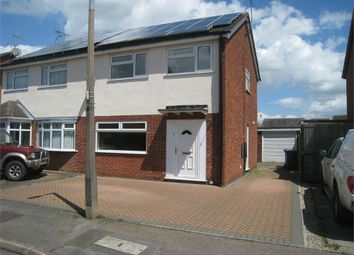 Thumbnail 3 bedroom semi-detached house to rent in Cookes Drive, Broughton Astley, Leicester
