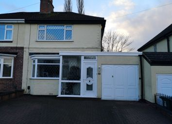 Thumbnail 2 bed semi-detached house for sale in Bryan Avenue, Penn, Wolverhampton