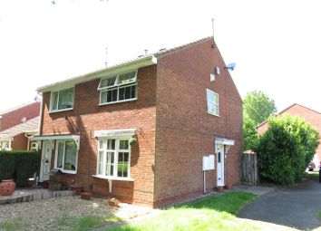 Thumbnail 2 bed semi-detached house for sale in Weyhill Close, Pendeford, Wolverhampton