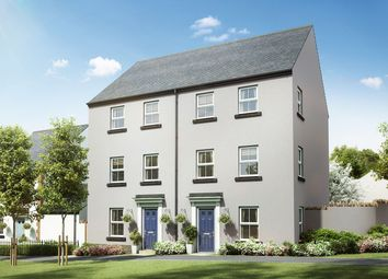 """Thumbnail 4 bed semi-detached house for sale in """"The Burnet"""" at Pipistrelle Close, Chudleigh, Newton Abbot"""