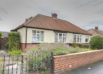 Thumbnail 2 bedroom semi-detached bungalow for sale in Ashleigh Road, Slatyford, Newcastle Upon Tyne