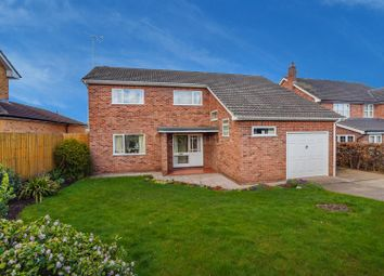 Thumbnail 4 bed detached house for sale in Manor Close, Southwell