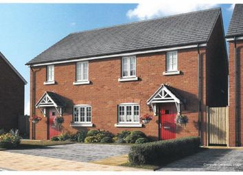 Thumbnail 2 bed semi-detached house for sale in Plot 16, Moorland Glade, Hillmorton, Rugby