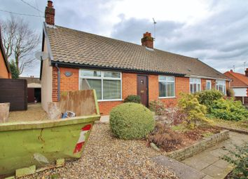 Thumbnail 2 bed semi-detached bungalow for sale in Beaumont Road, New Costessey, Norwich