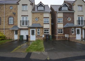Thumbnail 4 bed terraced house to rent in Goods Yard Close, Loughborough