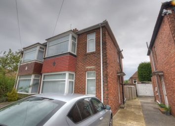 Thumbnail 3 bed semi-detached house for sale in Doxford Gardens, North Fenham, Newcastle Upon Tyne
