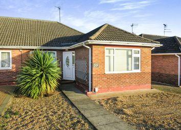 Thumbnail 3 bedroom semi-detached bungalow for sale in Storrington Way, Werrington, Peterborough