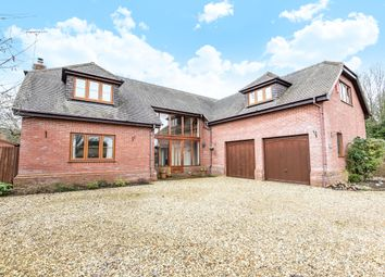 Thumbnail 4 bed detached house to rent in Field Fayre, Barton Stacey, Winchester