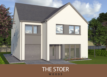 Thumbnail 4 bed detached house for sale in The Marketing Suite, Hillside, Montrose