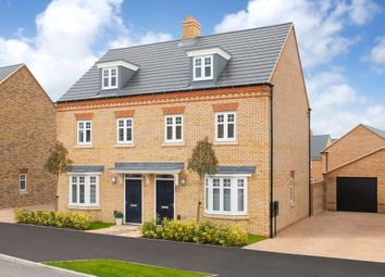 "Thumbnail 3 bedroom semi-detached house for sale in ""Kennett"" at Southern Cross, Wixams, Bedford"