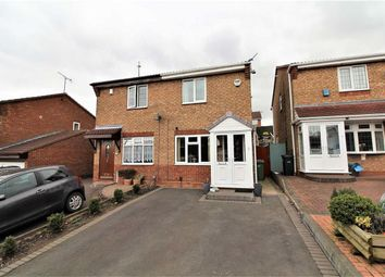 Thumbnail 2 bed semi-detached house for sale in Homestead Close, Dudley, Upper Gornal