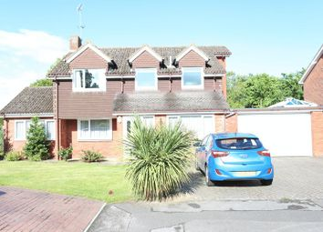 Thumbnail 4 bed detached house for sale in Perth Close, Woodley, Reading