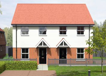 Thumbnail 2 bed semi-detached house for sale in Hall Place, Hoath, Canterbury
