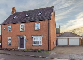 Thumbnail 5 bed detached house for sale in Folley Road, Kibworth, Leicester