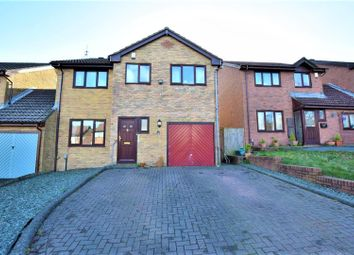 Thumbnail 4 bedroom link-detached house for sale in Priory Gardens, Barry