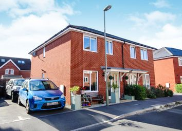 Thumbnail 3 bed semi-detached house for sale in Chivers Road, Romsey