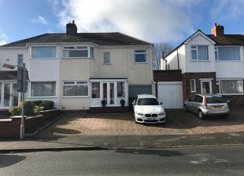 Thumbnail 3 bed semi-detached house to rent in Rangoon Road, Solihull