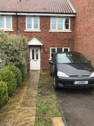 Thumbnail 3 bedroom terraced house to rent in Arnold Pitcher Close, North Walsham