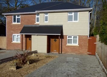 Thumbnail 3 bed semi-detached house to rent in Manning Avenue, Highcliffe, Christchurch