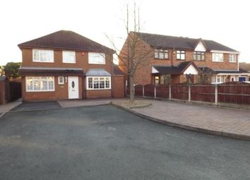 Thumbnail 5 bedroom detached house for sale in Keasden Grove, Willenhall, West Midlands