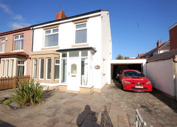 Thumbnail 3 bed semi-detached house for sale in Abbey Road, Blackpool, Lancashire