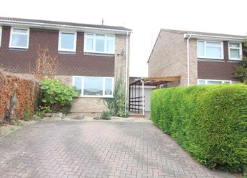 Thumbnail 3 bed semi-detached house for sale in Taff Road, Caldicot