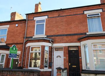 Thumbnail 3 bed terraced house for sale in Derbyshire Lane, Hucknall, Nottingham