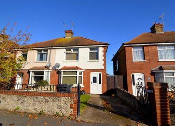 Thumbnail 3 bed semi-detached house for sale in Station Approach Road, Ramsgate, Kent