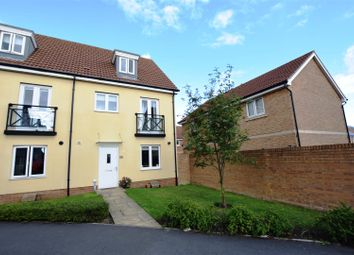 Thumbnail 4 bed semi-detached house for sale in Wren Gardens, Portishead, Bristol