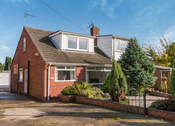Thumbnail 3 bed semi-detached bungalow for sale in Main Street, Preston, Hull
