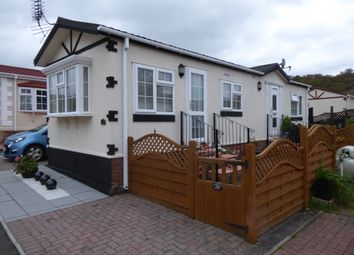 Thumbnail 2 bed mobile/park home for sale in Woodbine Close Park, Waltham Abbey, Essex