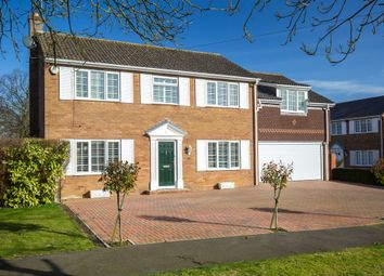 Thumbnail 5 bed detached house for sale in Sayers Court, Bluntisham, Huntingdon