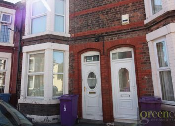 Thumbnail 3 bedroom terraced house to rent in Palace Road, Walton, Liverpool