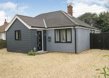 Thumbnail 3 bed detached bungalow for sale in Hereward Way, Weeting, Brandon
