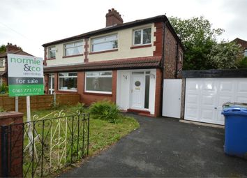 Thumbnail 3 bed semi-detached house for sale in Ludlow Avenue, Whitefield, Manchester, Lancashire