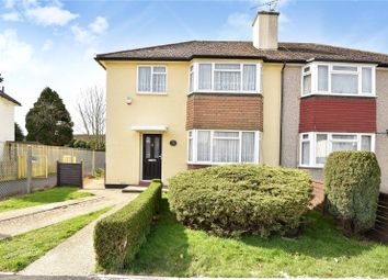 Thumbnail 3 bedroom semi-detached house for sale in Morello Avenue, Hillingdon, Middlesex