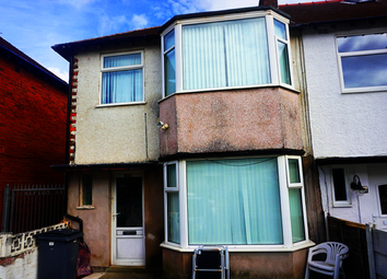 Thumbnail 3 bed terraced house for sale in Repton Avenue, Blackpool, Lancashire