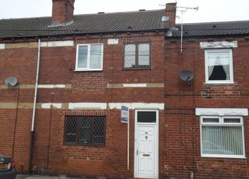 Thumbnail 4 bed terraced house to rent in Ambler Street, Castleford