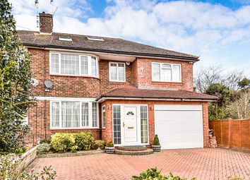Thumbnail 4 bedroom semi-detached house for sale in Merryhills Drive, Enfield