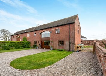 Thumbnail 3 bed barn conversion for sale in Woollaston, Church Eaton, Stafford