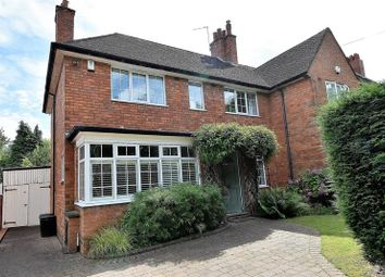 Thumbnail 3 bed semi-detached house for sale in Hole Lane, Bournville Village Trust, Birmingham
