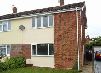 Thumbnail 3 bed semi-detached house to rent in Miles Close, Colchester, Essex