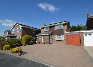 Thumbnail 4 bed detached house for sale in Meadow Close, Farndon, Chester