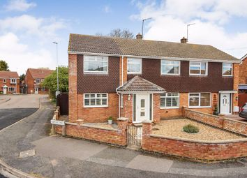 Thumbnail 4 bed semi-detached house for sale in Cartmel Way, Rushden, Northamptonshire