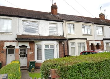 Thumbnail 3 bed terraced house for sale in Pearson Avenue, Coventry